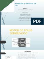Motor de Polos Sombreados (Transformadores) Preciso