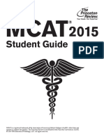 TPR MCAT 2015 Student Guide