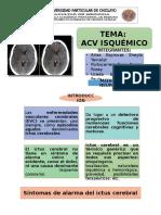 Acv Isquémico Neuro