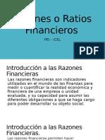 Razones o Ratios Financieros