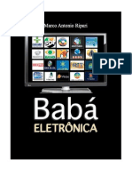 TELEVISÃO BABÁ Eletrônica