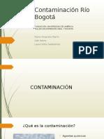 Contaminacion Rio Bogota