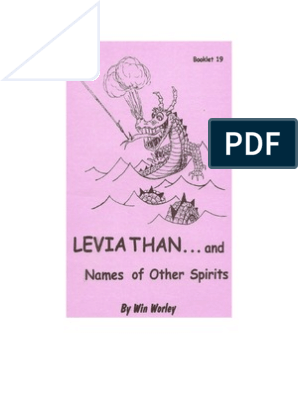 Leviathan and Names of Other Spirits_Win Worley | Book Of