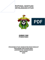 Proposal Bantuan Studi s2 Ok