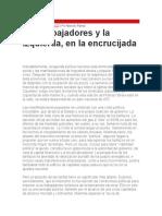 Marcelo Ramal - Los Trabajadores y La Izquierda, En La Encrucijada