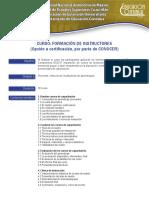 Curso Formacion Instructores EC0217