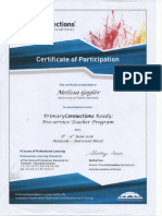 primary connection certificate pdf