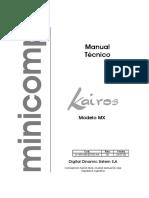 Minicomp Kairos M-X ESU - Service Manual 1 (Es)