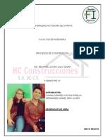 Trabajo [Procesos Constructivos]