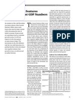 Some Puzzling Features of India s Recent GDP Numbers 0