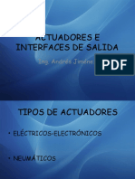 Actuadores e Interfaces de Salida