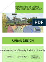 Contextualization of Urban Design & Community Architecture