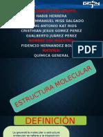 Estructura Molecular Exposición