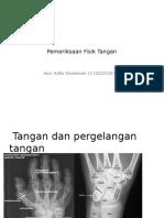 Pemeriksaan Fisik Tangan