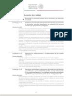 Plan Nacional de Desarrollo - Eje 3 - Mexico Con Educacion