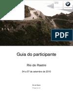 Guia Do Participante - Rio Do Rastro 04 a 07.09.2010