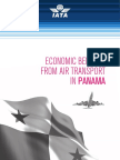 Economic Benefits From Air Transport in Panama