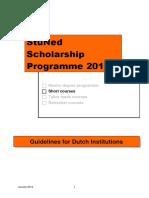 2014 SC Annex 4 Guidelines StuNed