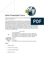 Music Wonderland Course