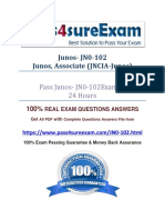 Pass4sure JN0-102 Question Answer