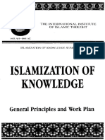 English Islamization of Knowledge General Principles and Work Plan