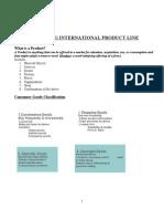 New Pdt Dev. & Managing International Product Line