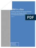 Site Recovery Manager in a Box 111 SRM