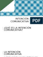 Intención Comunicativa - TLR