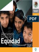 Abriendo Escuelas Para La Equidad Guía Práctica