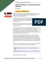 SolidWorks API Series Advanced Development eBook b00hssru3c