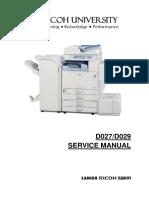 Ricoh Aficio MP C4000, MP C5000 Parts & Service Manual.pdf