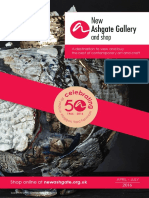New Ashgate Gallery and Shop - Summer Brochure 2016