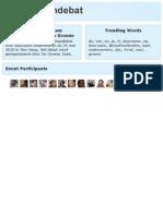 Verslag Duurzaam Verkiezingsdebat de Groene Zaak