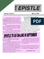 EPISTLE 2008-05