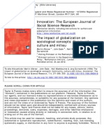 Albrow, Et Al, The Impact of Globalization on Sociological Concepts