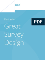 SurveyGizmo eBook Guide to Great Survey Design 4.22.16