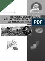 Reporte Estadístico Anual 2015