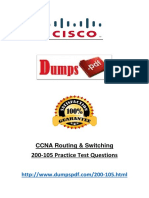 Dumpspdf Real Exam 200-105 PDF Files