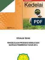 Petunjuk Teknis Kedelai Dan Bantuan Pemerintah 2016 Final