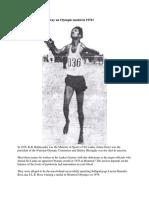 Did Sri Lanka Throw Away an Olympic Medal in 1976