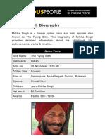 Milkha Singh 5334