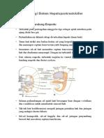 Embriologi Sistem Hepatopankreatobilier