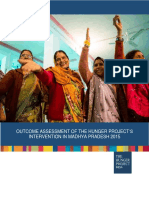 Outcome Assessment Report of THP's Intervention in MP 2015