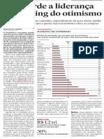 IPSOS Estadao - Pais Perde Ranking Otimismo 2015