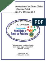 Anuário Do Presidente LC Castanhal Centro DLA-6