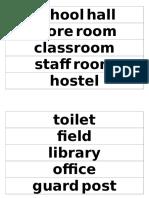 Places in School Yr3