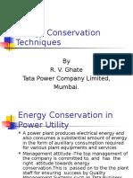 Energy Conservation Techniques1