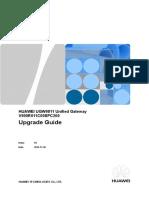 UGW9811 V900R011C00SPC200  Upgrade Guide .doc
