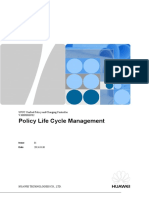 UPCC V300R006C10 Policy Life Cycle Management.docx
