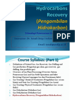 Hydrocarbons Recovery